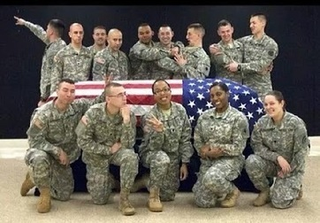 National Guard soldier suspended over 'distasteful' military funeral photos and comments | Issues with the Military and Social Media | Scoop.it