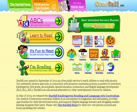 Starfall's Learn to Read with phonics | The 21st Century | Scoop.it