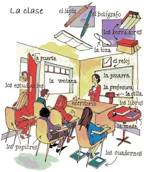 La clase - Vocabulario | Las TIC en el aula de ELE | Scoop.it