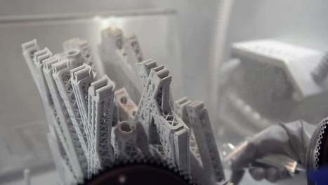 Airbus 3D Printing Airplane Partitions That Mimic Cells And Bone Structure  #Biomimicry | Biomimicry | Scoop.it