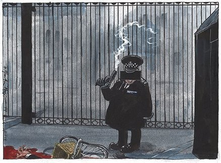 Martin Rowson on Plebgate – cartoon | Welfare, Disability, Politics and People's Right's | Scoop.it
