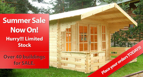 Garden Sheds, Wooden Workshops, Sun Houses, Garden Offices, Log Cabins, Hot Tub Cabins, Summerhouses, Prefab Wooden Garages, Bespoke | Gardening | Scoop.it