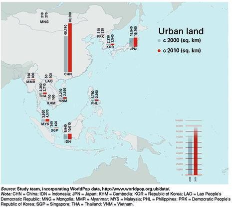La croissance urbaine en Asie orientale | Urbanisme | Scoop.it