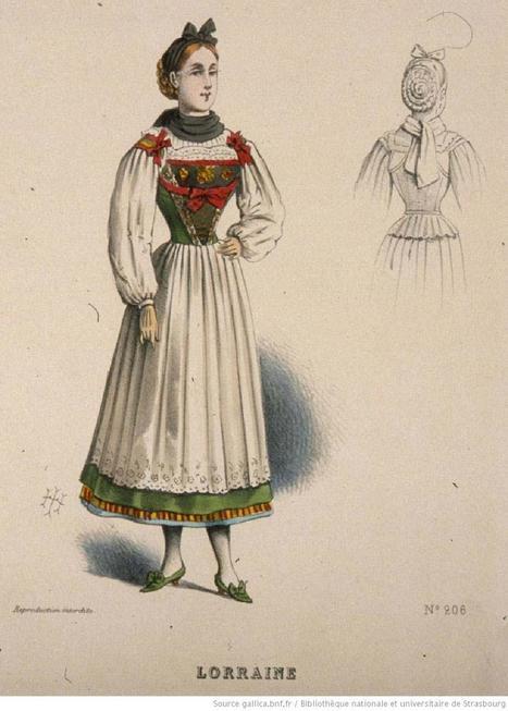 Costume de Lorraine - généalogie et histoires lorraines | Auprès de nos Racines - Généalogie | Scoop.it