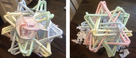 Straws Thingys and Other Mathematical Sculptures | Blog on math blogs | Algorithmic Music Composition | Scoop.it