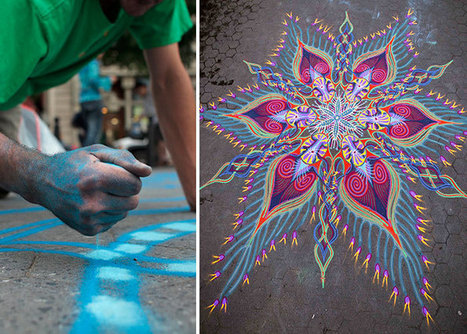 Artist Spends Up To 8 Hours On Beautiful Sand Paintings That Will Be Swept Away By The Wind | De l'art | Scoop.it