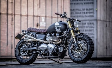 Down & Out Cafe Racers Triumph T100 | Custom bikes and Specials | Scoop.it