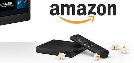 L'Amazon Fire TV, grand concurrent du Chromecast et Apple TV - AndroidPIT | affiliation | Scoop.it
