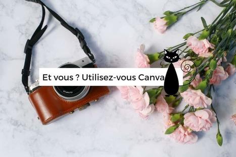 Mes visuels avec Canva un site pour les designers en herbe | Au fil du Web | Scoop.it