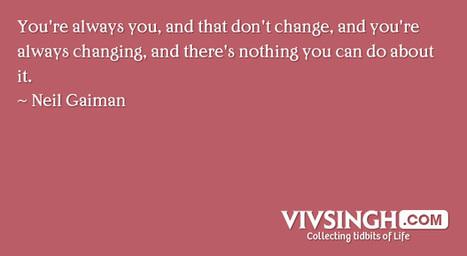 28 Magnificent Quotes By Neil Gaiman | VIVSINGH | comicbook quotes | Scoop.it