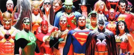 Heroes and Villains: The Comic Book Art of Alex Ross at The Warhol ... | Science, Technology, and Current Futurism | Scoop.it
