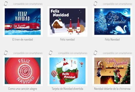 5 sitios web para crear tarjetas de navidad y enviarlas online   FOTOTECA INFANTIL   Scoop.it