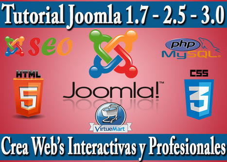 Tutorial Joomla definitivo para aprender a crear webs 2.0 de una alta interactividad y profesionalidad. Crea Plantillas Joomla, Posicionala en Buscadores y +. | Blogs educativos generalistas | Scoop.it