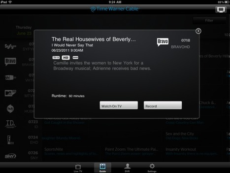 Time Warner Cable Tops 100 Channels On iPad App, Without Viacom - Multichannel News | Richard Kastelein on Second Screen, Social TV, Connected TV, Transmedia and Future of TV | Scoop.it