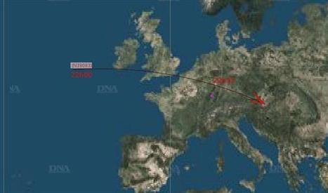 Secteur de Molsheim | Un bout de lanceur russe dans le ciel bas-rhinois | Molsheim Wasselonne Marlenheim | Scoop.it