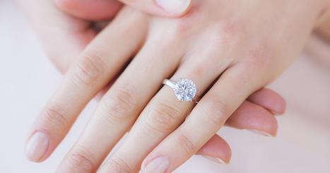 Buying a larger enhanced diamond engagement | jewelrybyraphael | Scoop.it