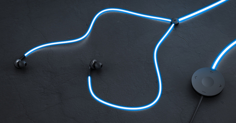 'Tron'-like Glow headphones pulse to the music and your heart | Enhanced Music | Scoop.it