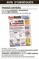 """LYon-Actualités.fr: Comareg, la CFDT publie un """"avis de décès""""   LYFtv - Lyon   Scoop.it"""
