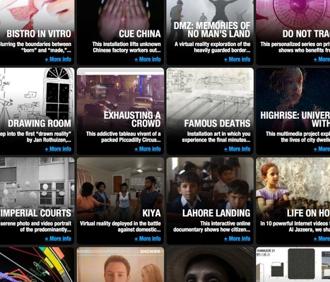 IDFA #Festival - Exploring #documentary #storytelling in the age of the #interface   Digital #MediaArt(s) Numérique(s)   Scoop.it