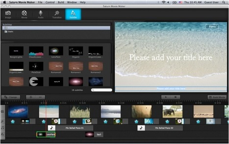 Easy-to-Use Video Editor for the Mac: Movie Maker | gaga | Scoop.it