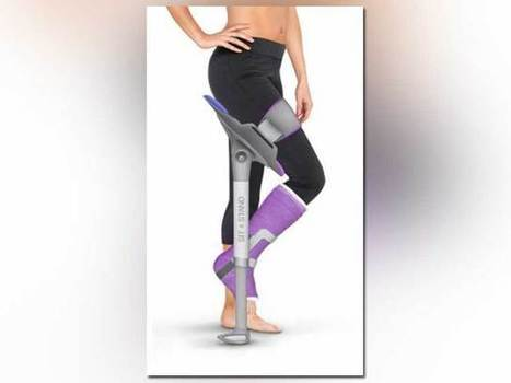 Alternative to crutches? Young designer submits 'Sit and Stand' idea to ... - The Denver Channel | Digitized Health | Scoop.it