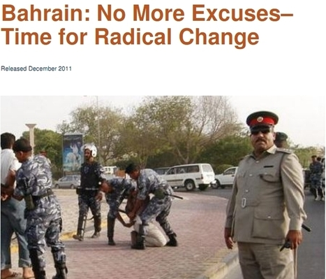 Bahrain: No More Excuses–  Time for Radical Change | Human Rights and the Will to be free | Scoop.it