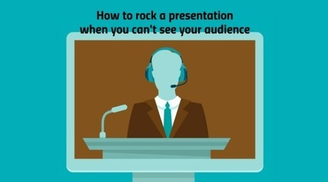 Prezi - Blog - How to rock a presentation when you can't see your audience | E-Learning | Scoop.it