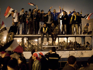 Timeline: The Major Events Of The Arab Spring : NPR | Arab Spring: a mitigated success | Scoop.it