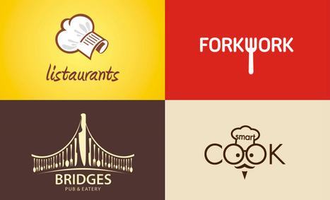 40 Creative Restaurant themed Logo Design examples for your inspiration | timms brand design | Scoop.it