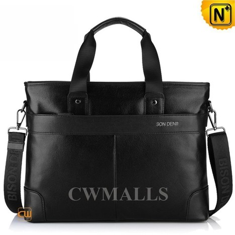 CWMALLS® Mens Leather Business Laptop Bags CW914019   Mens Business Bags   Scoop.it