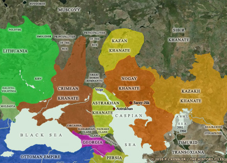 Kingdoms of Central Asia - Khans of Astrakhan (Tartars)   IELTS, ESP, EAP and CALL   Scoop.it