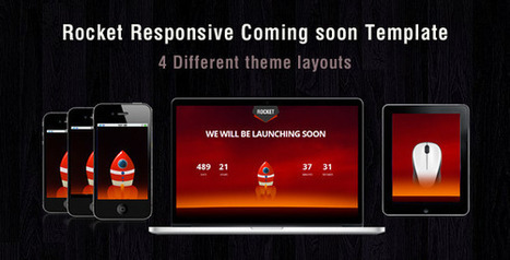 Rocket coming soon (Under Construction) | Best HTML Themes | Scoop.it