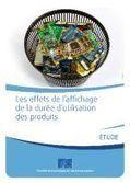 Etude : affichage de la duréé d'utilisation des produits, quels effets chez le consommateur ? | Responsabilité Sociale des Entreprises | Scoop.it