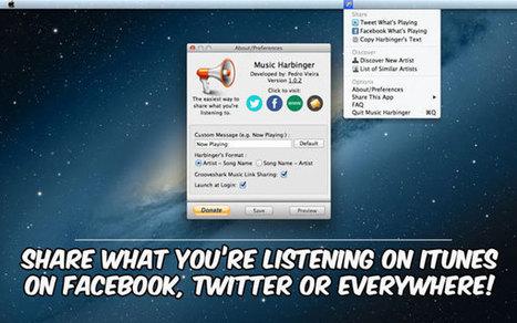 Music Harbinger, partagez ce que vous écoutez sur les réseaux ...   Curating ... What for ?! Marketing de contenu et communication inspirée   Scoop.it