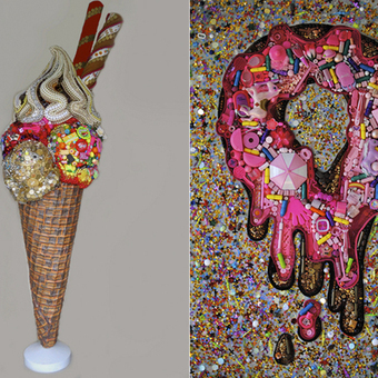 Elisa Insua's Assemblage Mosaics Turn Everyday Junk Into Giant Games of 'I Spy' | Smash!Mosaics | Scoop.it