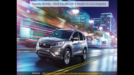 Goudy Honda : Buy Honda CR-V Parts Online | Goudy honda | Scoop.it