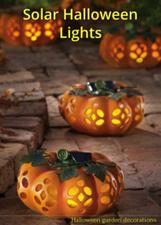 Solar Halloween Lights: Halloween garden decorations | The Home Front | Scoop.it