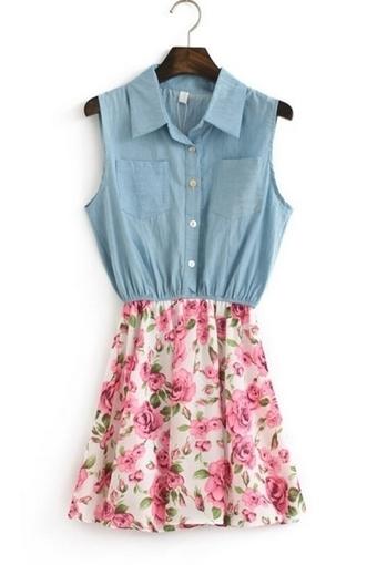 Floral Print Sleeveless Dress - OASAP.com | Online Fashion | Scoop.it
