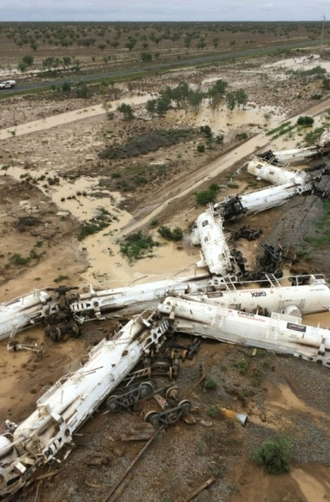 Acid leak likely from derailed Australian freight train | Railway's derailments and accidents | Scoop.it