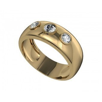 Gold Diamond Rings Online - Jewelslane | Diamond Solitaire Ring | Scoop.it