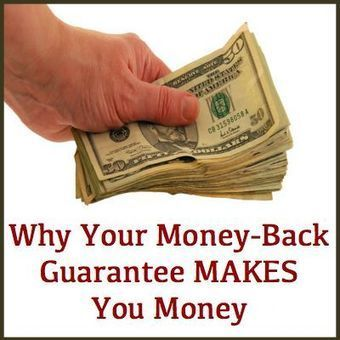 Why Your Money-Back Guarantee MAKES You Money | SEO, SMM | Scoop.it