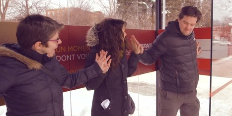 WATCH: Total Strangers Hold Hands To Heat Up Bus Shelter | Xposed | Scoop.it