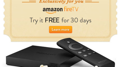 Amazon offering some customers free trial of Fire TV - The Verge | Frugal and Thrifty | Scoop.it