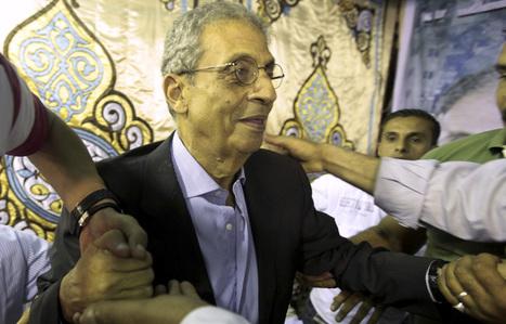 Egypte : Amr Moussa favori par défaut | Égypt-actus | Scoop.it