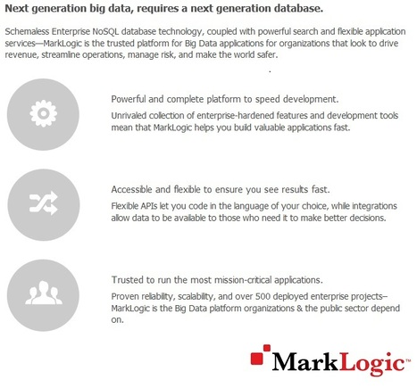 What is MarkLogic? | Big Data Technology, Semantics and Analytics | Scoop.it