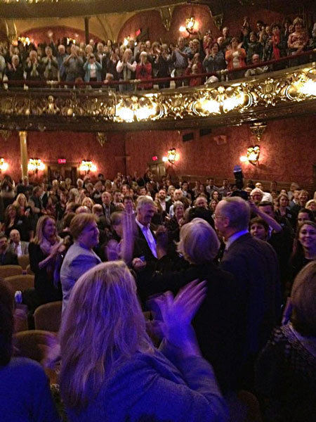 photo: Elizabeth Warren Arrives Emerson Colonial Theatre for Sold Out James Taylor Benefit Concert | Massachusetts Senate Race 2012 | Scoop.it
