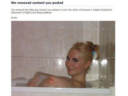 Facebook Confuses Elbow for a Nipple | READ WHAT I READ | Scoop.it