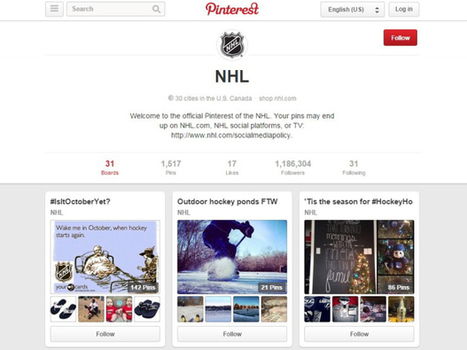 How Pinterest is looking to hockey and beer for growth in Canada, its No. 2 market | Canada Goes Social! | Scoop.it