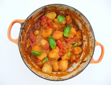 Tinned Tomatoes: 5:2 Diet - Moroccan Style Potato Bake = 233 calories | Vegetarian Recipes | Scoop.it
