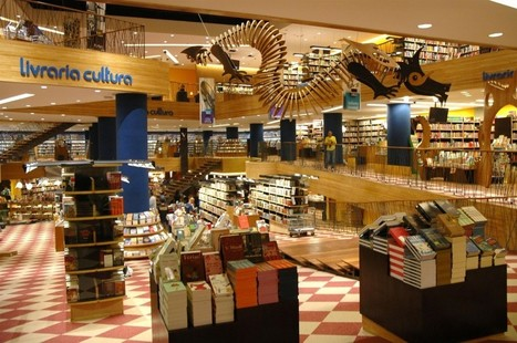 Brazilian Bookstores: The Big Ones are Bigger, But Selling Less Books   Second Hand Books   Scoop.it